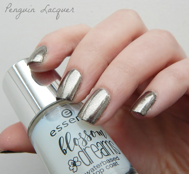 essence blossom dreams mirror mirror on my nails