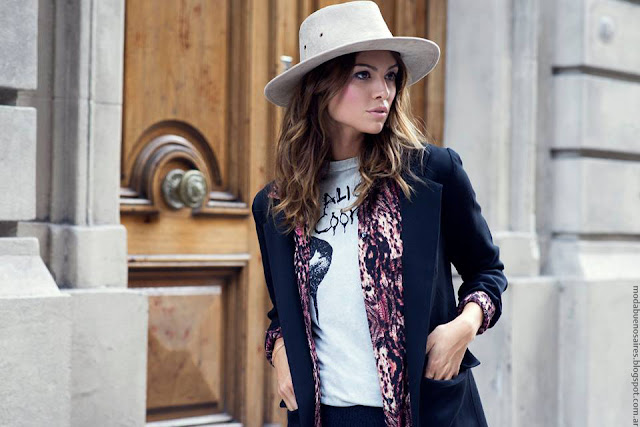 Moda invierno 2016. Cenizas ropa de mujer moda otoño invierno 2016. MODA 2016.