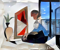 Femme au Mirroir, version 3