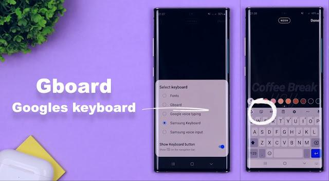 Google Board Story