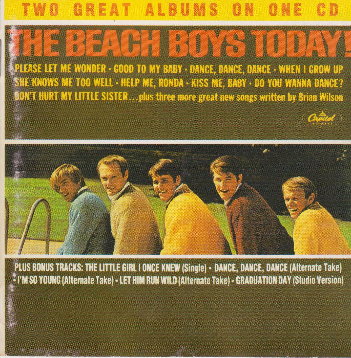 classic album the beach boys today. Black Bedroom Furniture Sets. Home Design Ideas