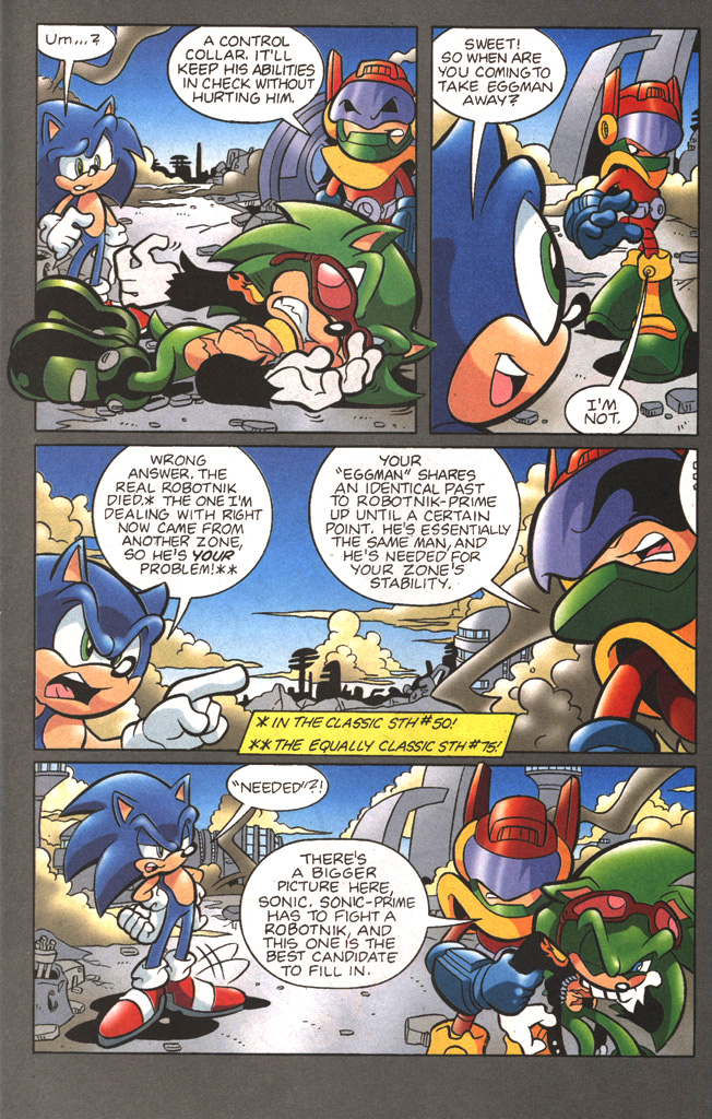 Read online Sonic The Hedgehog comic -  Issue #197 - 22