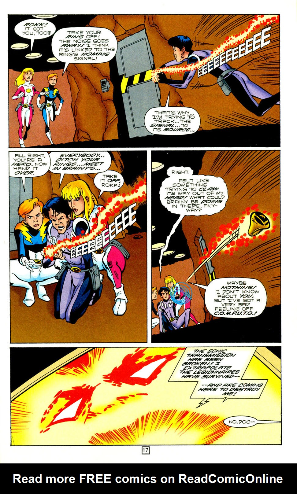 Legion of Super-Heroes (1989) 98 Page 17