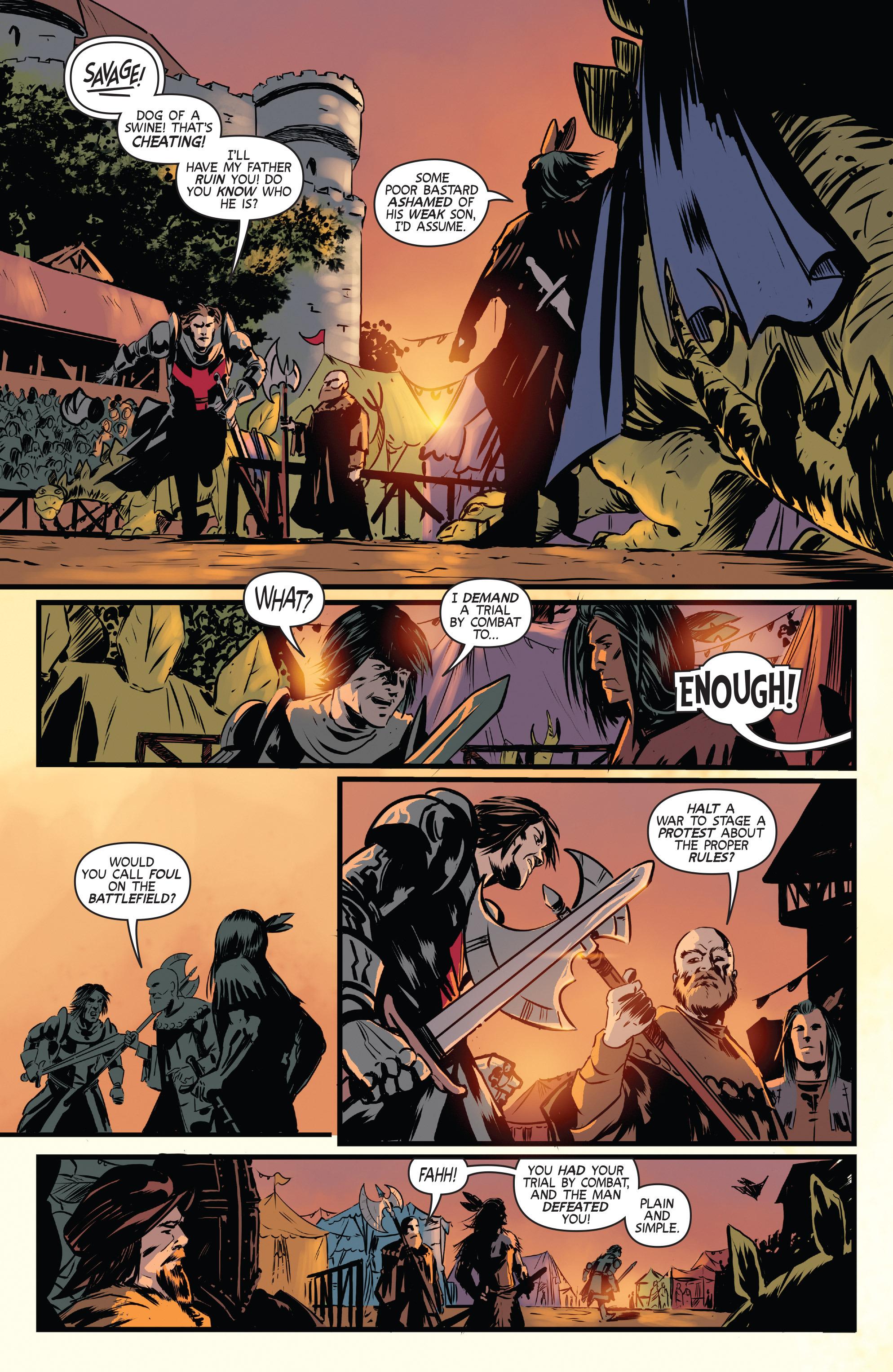 Read online Turok: Dinosaur Hunter (2014) comic -  Issue # _TPB 3 - 38
