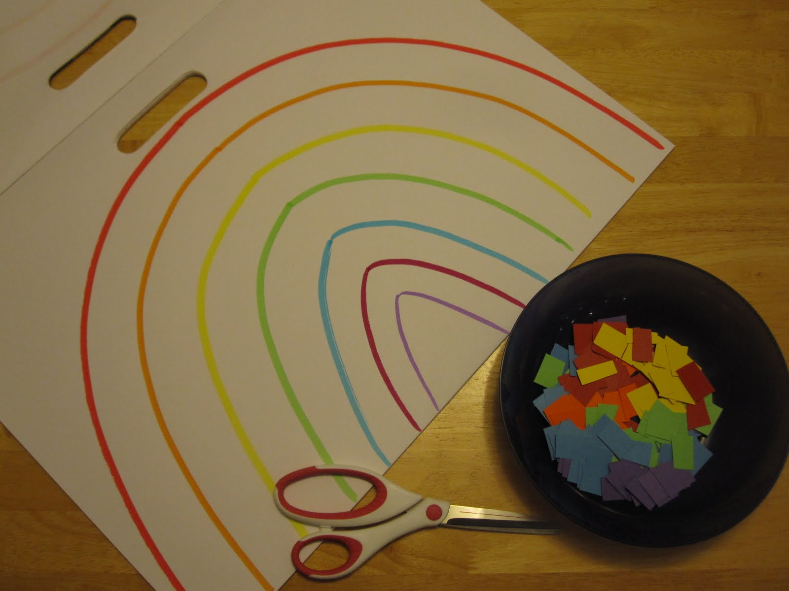 Toddler Approved Bumpy And Smooth Roy G Biv Rainbow