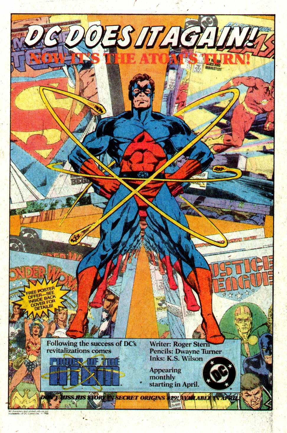Read online Secret Origins (1986) comic -  Issue #28 - 41
