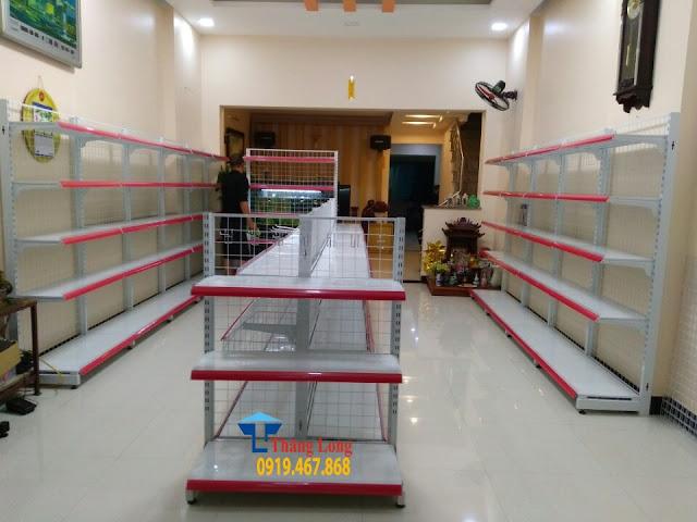 Phân phối giá kệ siêu thị giá rẻ tại Đak Lak
