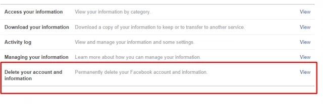 computer se facebook delete kaise kare