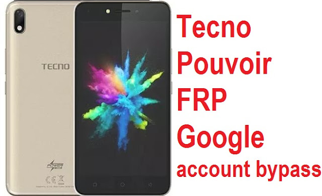 Tecno Pouvoir 1 LA6 PIN reset, Password remove and FRP bypass