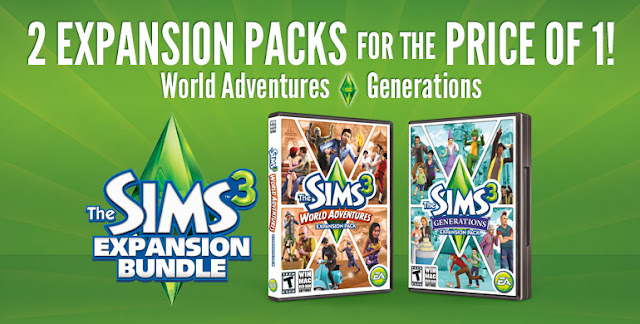 sims3 the sims 3 expansion bundle