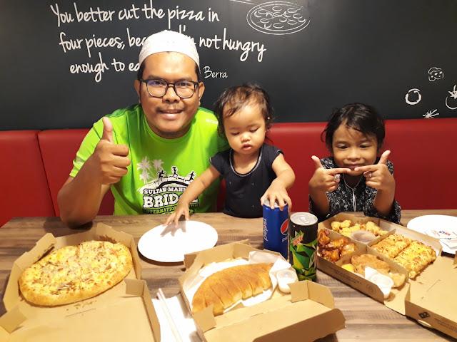 It's All About You : Belian Online Domino's Pizza Menggunakan Kupon Amat Mudah dan Cepat