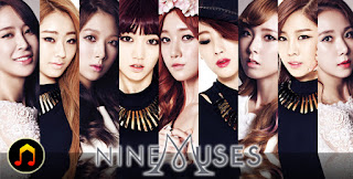 Lyric : 9Muses (Nine Muses) - Two Of Us