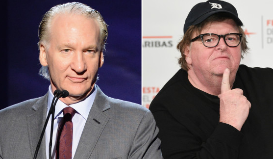 Scares for Bill Maher, Michael Moore in wake of mail bomb threats