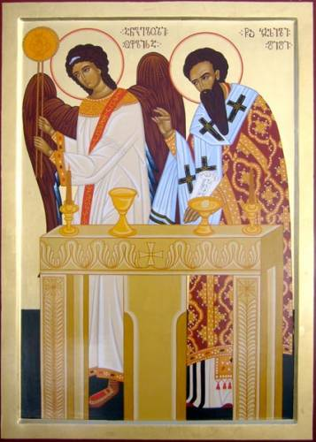 An analysis of the divine liturgy in sunday church masses