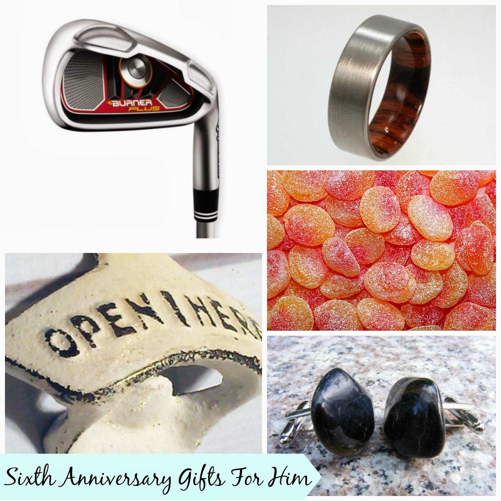 Sweet Stella's: Sixth Wedding Anniversary Gifts For Him
