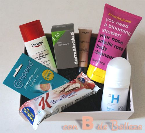 GlossyBox mes Abril