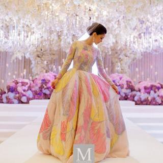 baju pengantin anzalna nasir