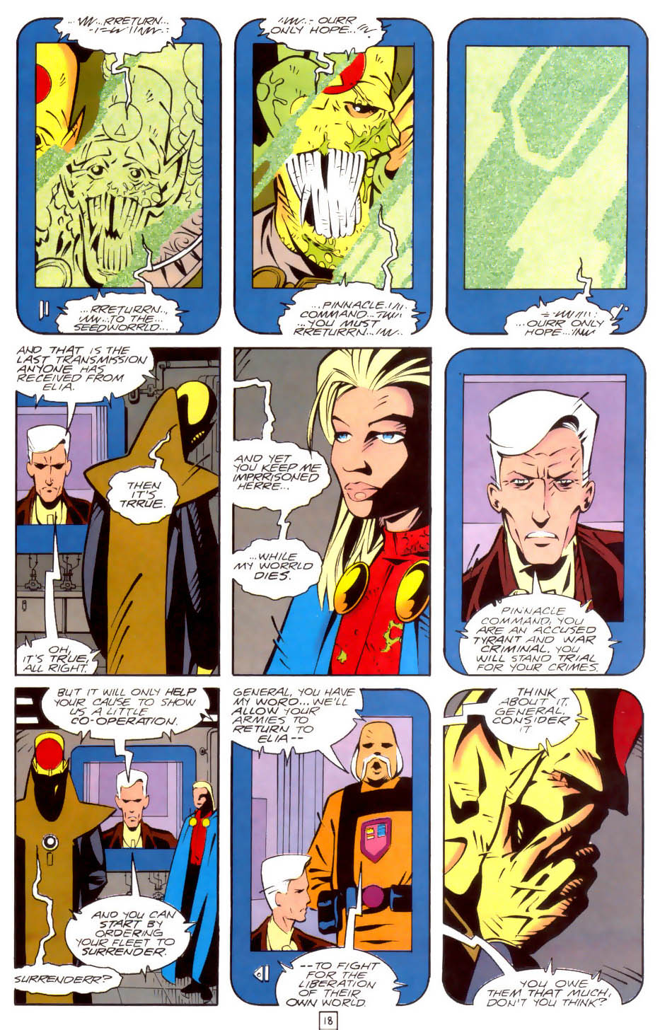 Legion of Super-Heroes (1989) 35 Page 18