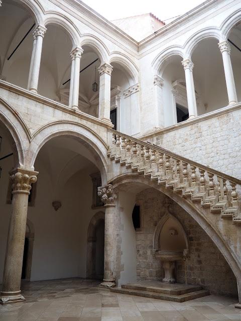 Rector's Palace courtyard, Dubrovnik, Croatia