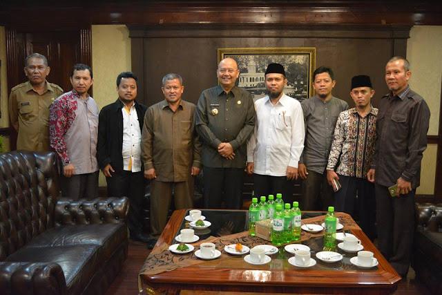Walikota Medan Terima Kunjungan Panitia Milad PKS Ke-18