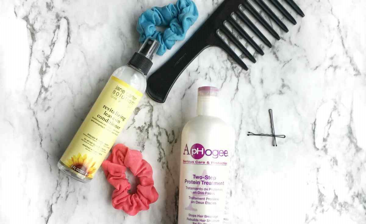How to keep your hair from breaking off | A Relaxed Gal