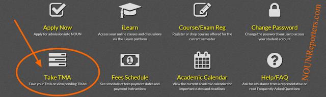How to Add Courses on your NOUN TMA Portal - Take TMA