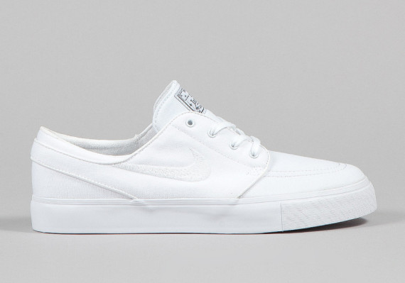 the latest 6db5e 9f13d Nike SB Stefan Janoski Canvas White