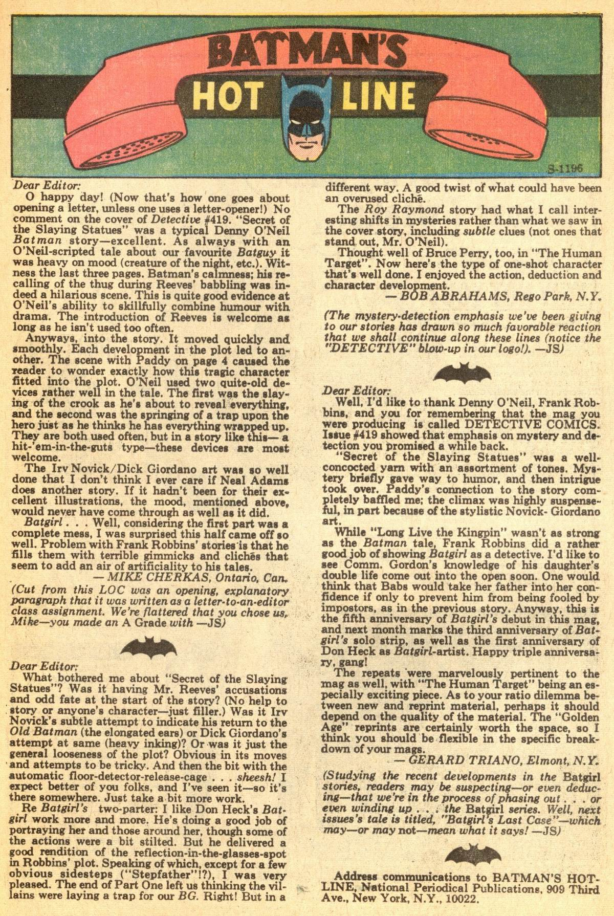 Detective Comics (1937) 423 Page 48
