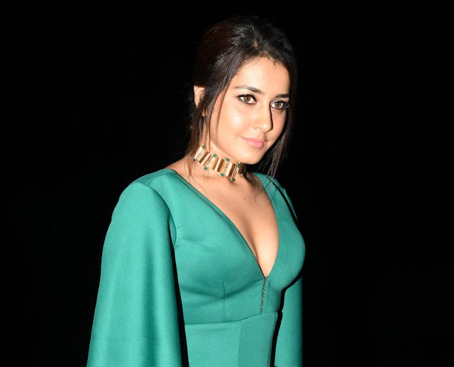 Raashi Khanna Hot Stills at Hyper Movie Audio Launch