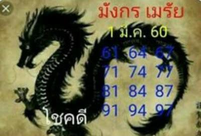 เลขเด่น  61  64  67  71  74  77  81  84  87  91  94  97