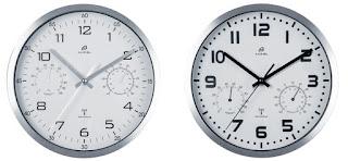 Zegar ścienny sterowany radiowo Auriol z Lidla