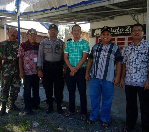 Syafinal Akbar Tinjau Pelaksanaan Pilkades di Desa Pauh Barat