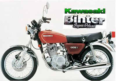 60 Foto Modifikasi Kawasaki Binter Merzy Retro Terklasik