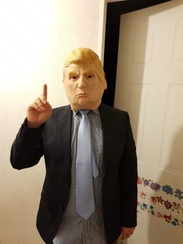 Donald Trump face Mask review