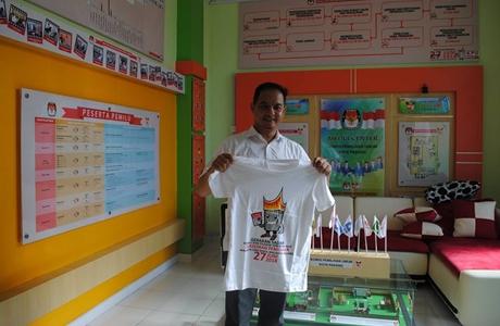 KPU Kota Padang Gelar Jalan Sehat