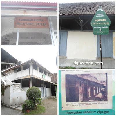 Berkunjung ke Langgar Kidoel KH Ahmad Dahlan  (Pendiri Muhammadiyah) Kauman Yogyakarta