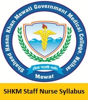 SHKM Staff Nurse Syllabus 2017