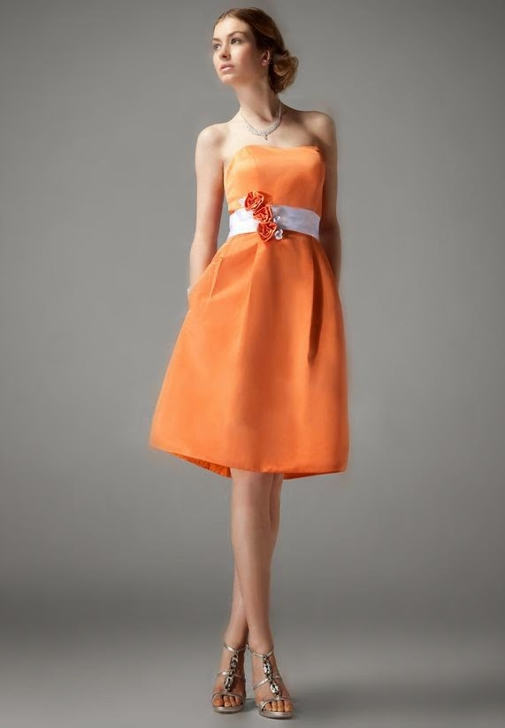 Orange Bridesmaid Dresses - Add a Fresh Squeeze to Your Special Day