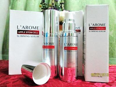 larome apple stem cell slimming serum