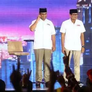 Hasil Sementara Quick Count Empat Lembaga Survei, Anies-Sandi Kalahkan Basuki-Djarot