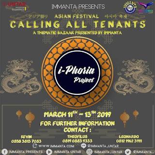 i-Phoria Project CALLING ALL TENANTS