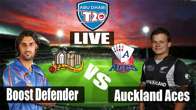 Auckland Aces Vs Boost Defender live