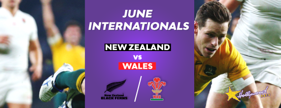 June Rugby Internationals header and text with link to our preview for the second June Test between New Zealand and Wales