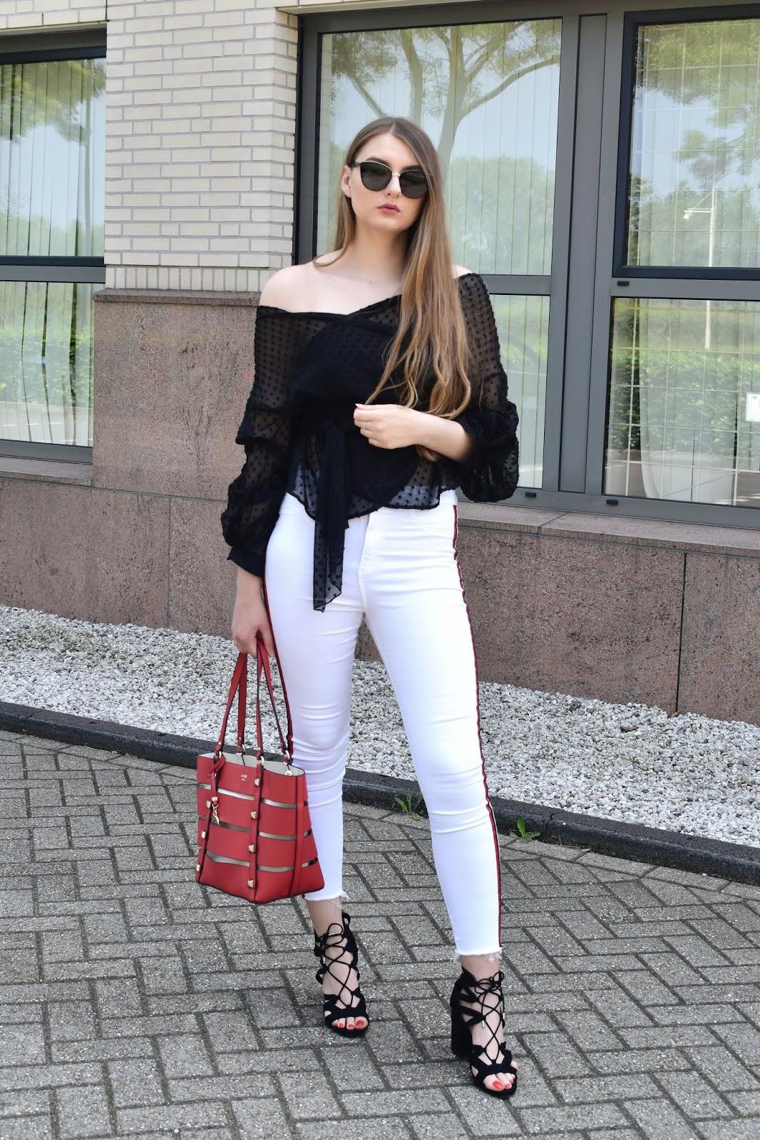 Jak wyglądać dobrze w białych spodniach