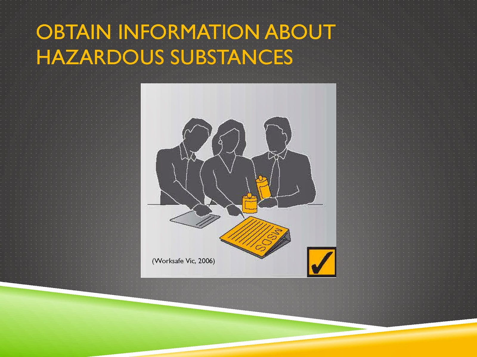 RESEARCH HAZARDOUS SUBSTANCES