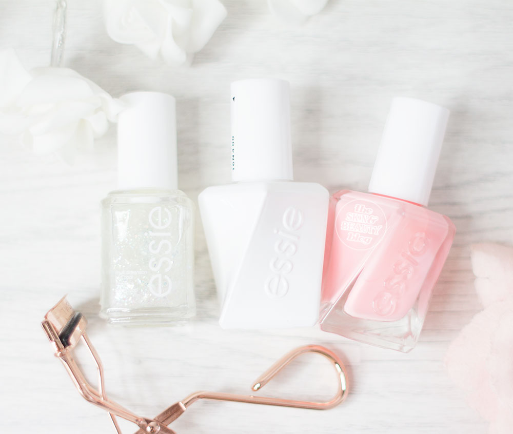 Essie Gel Couture Collection Couture Curator Nail Polish and Top Coat Review Swatches