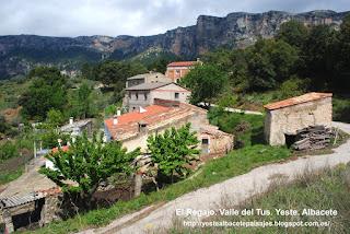 Yeste. Albacete. Paisajes: El Regajo. Valle del Tus. Yeste