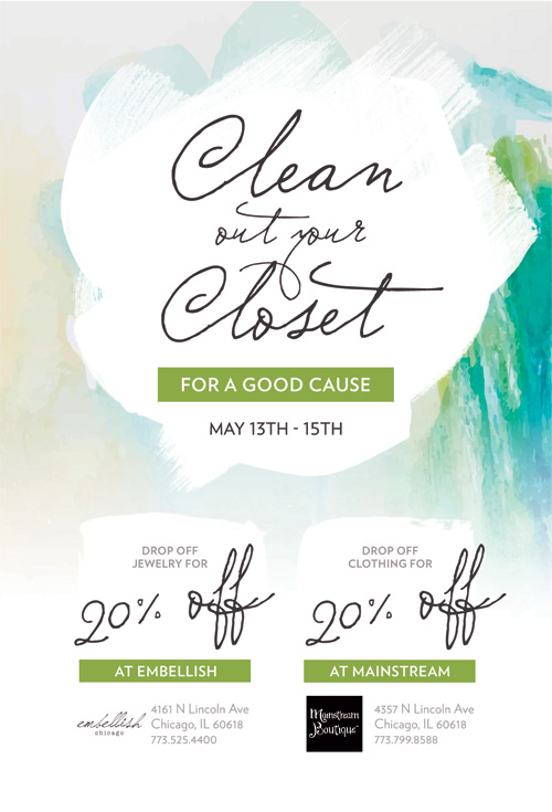 """How To Clean Out Your Closet uptown update: """"clean out your closet"""" for sarah's circle"""