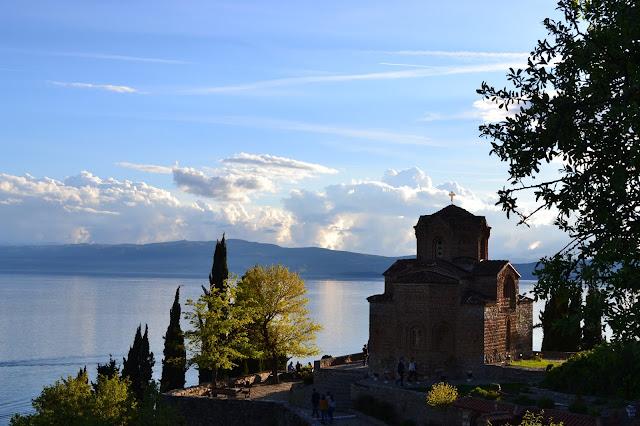 Church of St. John at Kaneo, Ohrid