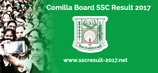 SSC Exam Result 2017 for Comilla Board